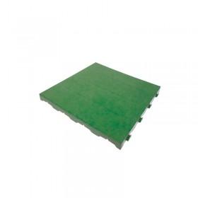 Pavimentazione colorata in plastica piena - Piastrella 40 x 40